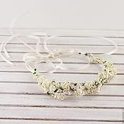 Свадебный салон handmade. Livemaster - original item A wreath of hair