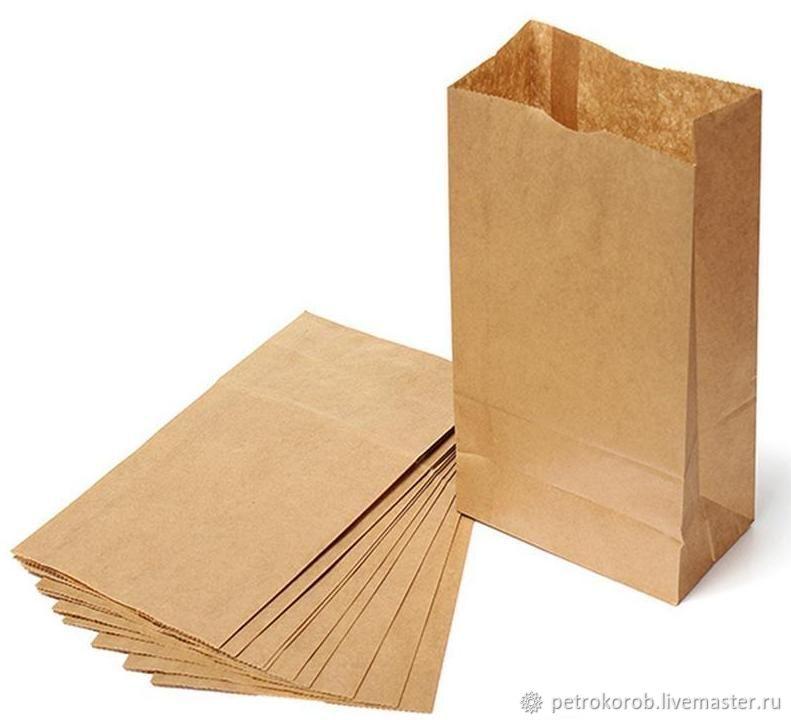 Крафт пакет 18х12х29см, Пакеты, Санкт-Петербург,  Фото №1