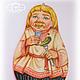 Матрешка-панно `Русское застолье`