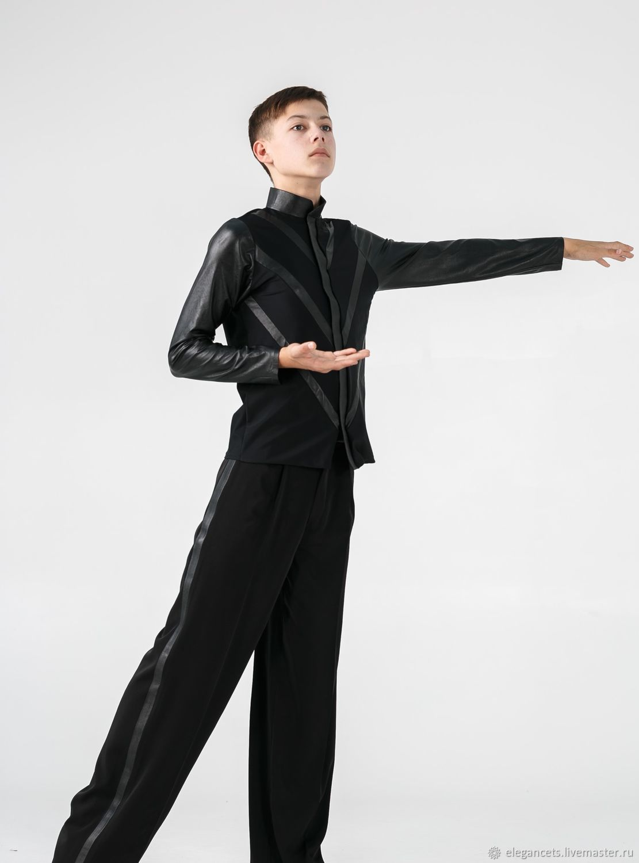 abc59ec3563 Танцевальные костюмы ручной работы. Ярмарка Мастеров - ручная работа. Купить  Рубашка и брюки латина ...