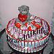 """Персональные подарки ручной работы. Ярмарка Мастеров - ручная работа. Купить Торт из киндер шоколада """"Розовые грёзы"""". Handmade. Разноцветный"""