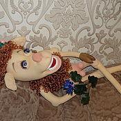 """Куклы и игрушки ручной работы. Ярмарка Мастеров - ручная работа Текстильная кукла """"Жду прЫнца"""". Handmade."""