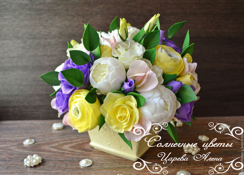 Оптовый склад, заказы корзины с цветами из фома