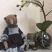 Куклы и игрушки handmade. Livemaster - original item Teddy bear Margo. Handmade.