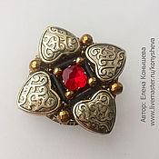 Украшения handmade. Livemaster - original item Brooch in the Russian style. Handmade.