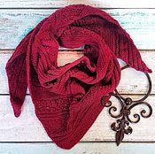 Аксессуары handmade. Livemaster - original item Bacchus Wine wool blend. Handmade.
