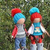 Куклы и игрушки ручной работы. Ярмарка Мастеров - ручная работа веселые туристы. Handmade.