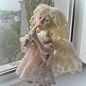 """Куклы и игрушки ручной работы. Ярмарка Мастеров - ручная работа Кукла из шерсти """"Утренний Ангел"""". Handmade."""