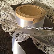Винтаж ручной работы. Ярмарка Мастеров - ручная работа Шелковая лента антикварная. Handmade.