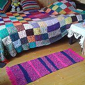 Для дома и интерьера handmade. Livemaster - original item Knitted Mat