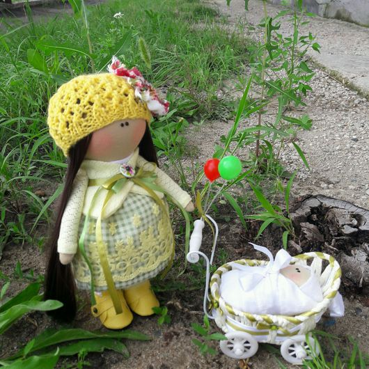 Куклы тыквоголовки ручной работы. Ярмарка Мастеров - ручная работа. Купить Текстильная кукла ручной работы. Handmade. кожезаменитель