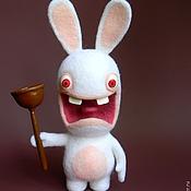 Куклы и игрушки ручной работы. Ярмарка Мастеров - ручная работа Rayman Бешеные кролики. Handmade.
