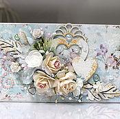 Свадебный салон ручной работы. Ярмарка Мастеров - ручная работа Свадебный конверт. Handmade.