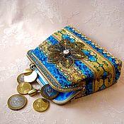 Сумки и аксессуары handmade. Livemaster - original item Wallet coin Atlantis. Handmade.