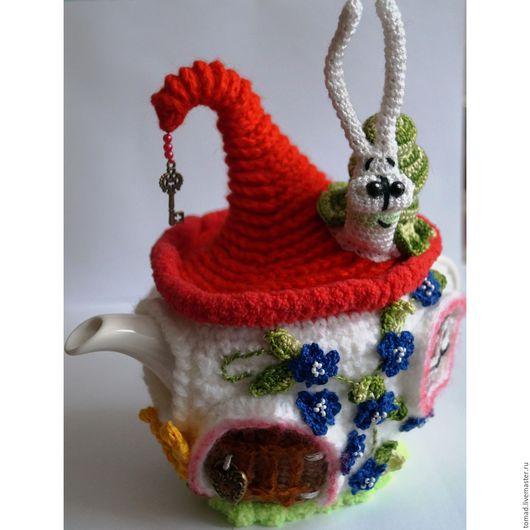 """Кухня ручной работы. Ярмарка Мастеров - ручная работа. Купить Грелка на чайник """"Летняя"""". Handmade. Грелка на чайник, интерьер кухни"""