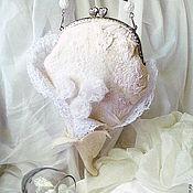 """Свадебный салон ручной работы. Ярмарка Мастеров - ручная работа Сумочка свадебная """"Рождение нежности"""". Handmade."""