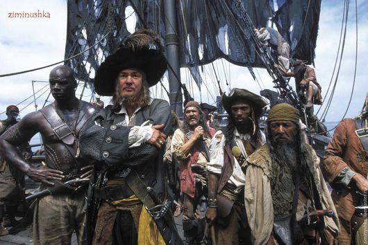Фантазийный фотоколлаж в стиле пиратов Карибского моря