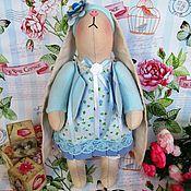 Куклы и игрушки ручной работы. Ярмарка Мастеров - ручная работа Тильда кролик Голубая мечта. Handmade.
