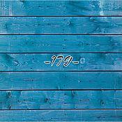 Для дома и интерьера ручной работы. Ярмарка Мастеров - ручная работа Фотофон синие доски. Handmade.