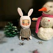 Игрушки ручной работы. Ярмарка Мастеров - ручная работа Кукла из дерева.Зайка.. Handmade.