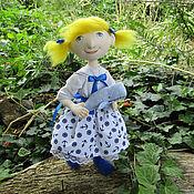 Куклы и игрушки ручной работы. Ярмарка Мастеров - ручная работа Кукла текстильная в морском стиле. Handmade.