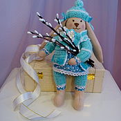 Мягкие игрушки ручной работы. Ярмарка Мастеров - ручная работа Пасхальный кролик. Handmade.