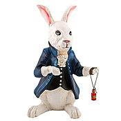 """Для дома и интерьера ручной работы. Ярмарка Мастеров - ручная работа """"Белый кролик"""". Handmade."""