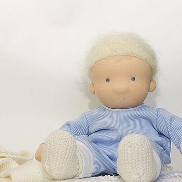 Куклы и игрушки ручной работы. Ярмарка Мастеров - ручная работа Текстильная кукла - пупс, 36 см. Handmade.