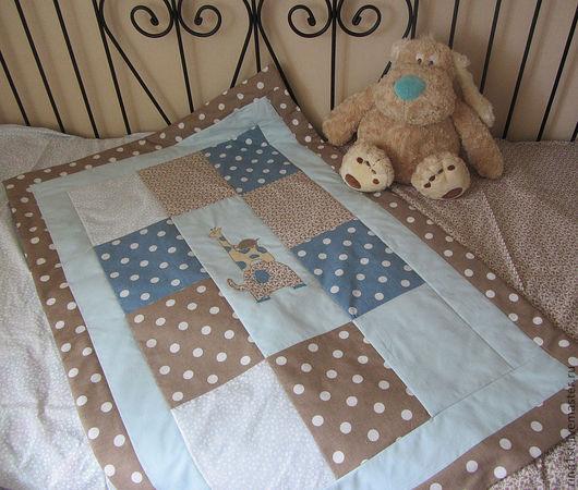 Пледы и одеяла ручной работы. Ярмарка Мастеров - ручная работа. Купить Лоскутное одеяло детское. Handmade. Лоскутное одеяло
