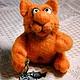 Игрушки животные, ручной работы. Ярмарка Мастеров - ручная работа. Купить Рыжик кот. Handmade. Валяние, кот, позитив, рыжий