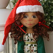 Куклы и игрушки ручной работы. Ярмарка Мастеров - ручная работа Текстильная кукла Элли. Handmade.