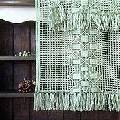 Для дома и интерьера ручной работы. Ярмарка Мастеров - ручная работа Дорожка с бахромой. Handmade.