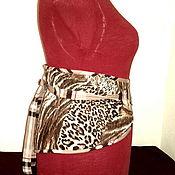 Корсеты ручной работы. Ярмарка Мастеров - ручная работа Корсеты: пояс из собачьей шерсти (пудель). Handmade.