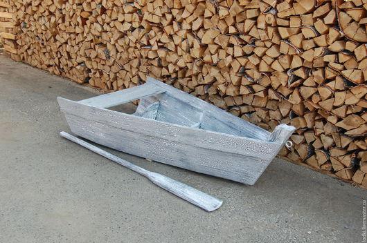 Мебель ручной работы. Ярмарка Мастеров - ручная работа. Купить Часть лодки (декор интерьера). Handmade. Комбинированный, декор интерьера