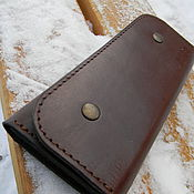 Wallets handmade. Livemaster - original item Wallet mens leather.. Handmade.