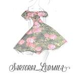 Sartoria Ludmila - Ярмарка Мастеров - ручная работа, handmade