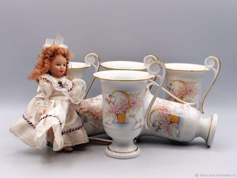 Французские бокалы (мазаграны, чашки), Кружки винтажные, Москва,  Фото №1