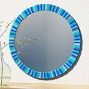 Для дома и интерьера ручной работы. Ярмарка Мастеров - ручная работа Круглое зеркало D-600. Handmade.