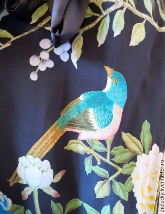 Одежда. Ярмарка Мастеров - ручная работа. Купить Англия 100%Шёлк Роскошное Платье. Handmade. Комбинированный, идеальный подарок