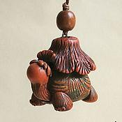 """Сувениры и подарки handmade. Livemaster - original item Колокольчик """"Черепашка"""". Handmade."""