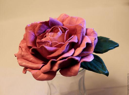 """Колье, бусы ручной работы. Ярмарка Мастеров - ручная работа. Купить Колье """"Nice day"""". Handmade. Розовый, заколка-цветок"""