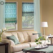 Для дома и интерьера handmade. Livemaster - original item Roman blinds. Handmade.