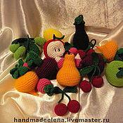 Куклы и игрушки ручной работы. Ярмарка Мастеров - ручная работа Овощи, фрукты вязаные. Handmade.