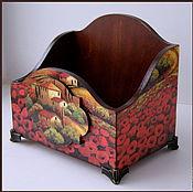 Для дома и интерьера ручной работы. Ярмарка Мастеров - ручная работа Короб для специй. Handmade.