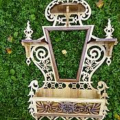 """Для дома и интерьера ручной работы. Ярмарка Мастеров - ручная работа Рамка под зеркало"""" Дух леса """". Handmade."""