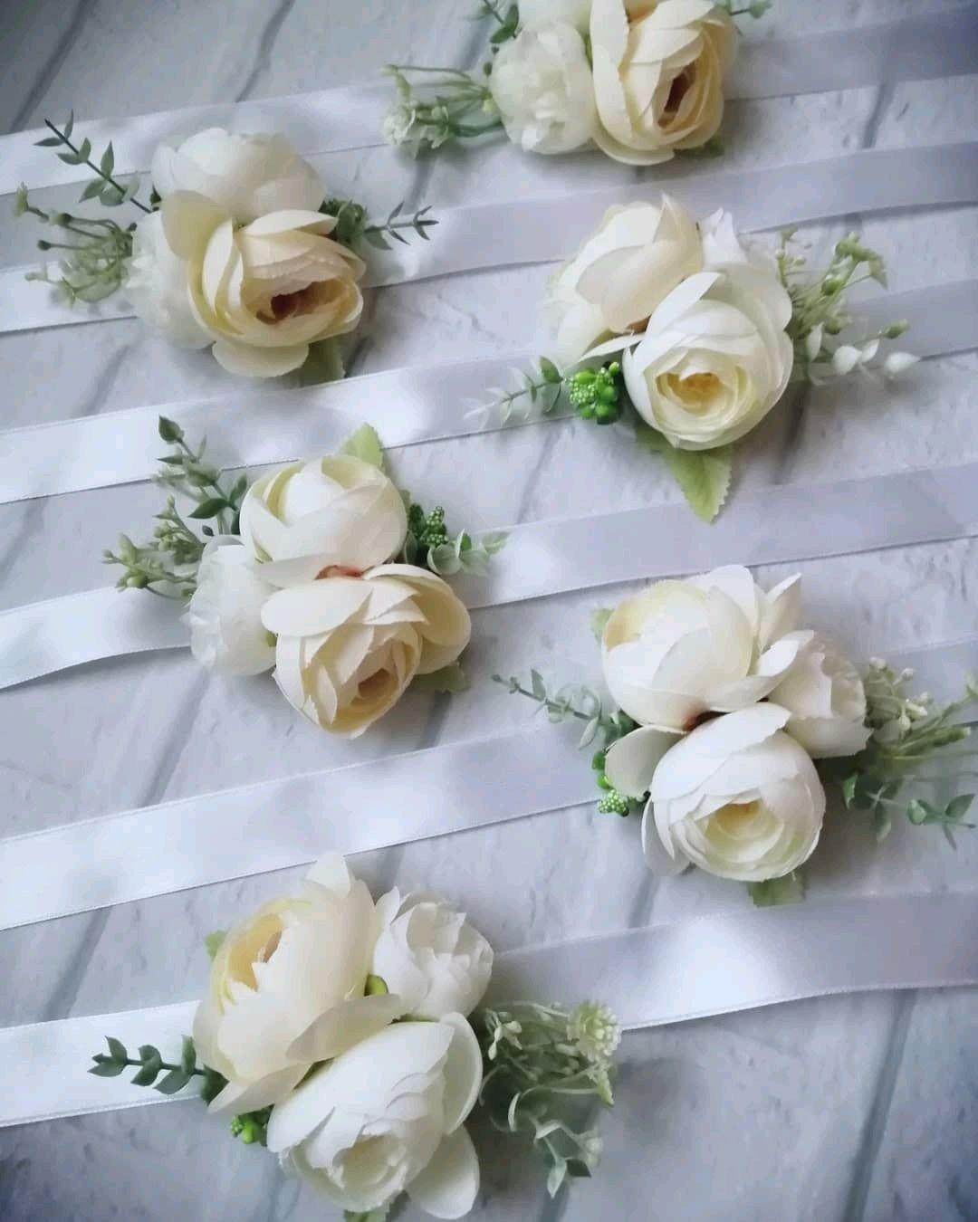 """Браслеты подружкам невесты """"белые цветы"""", Браслеты, Самара,  Фото №1"""