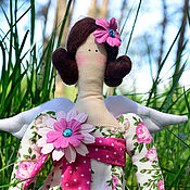"""Куклы Тильда ручной работы. Ярмарка Мастеров - ручная работа """"Фея Весеннего Леса"""" Кукла в стиле Тильда.. Handmade."""