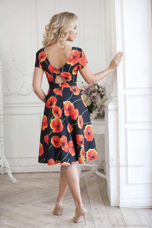 Dress ' Floral accent', Dresses, St. Petersburg,  Фото №1