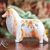 handmade. Livemaster - original item Scottish Shepherd Collie. Handmade.