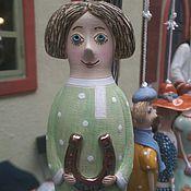 """Куклы и игрушки ручной работы. Ярмарка Мастеров - ручная работа Кукла-колокольчик """"Домовой"""". Handmade."""